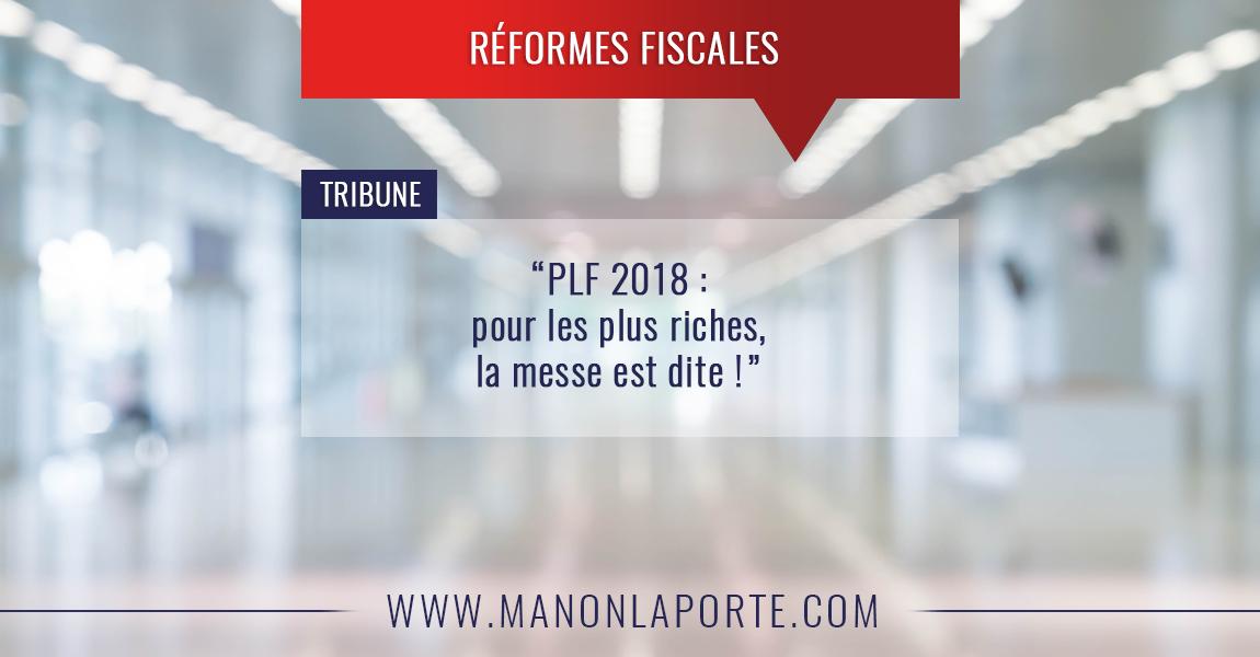 Projet de Loi de Finances 2018