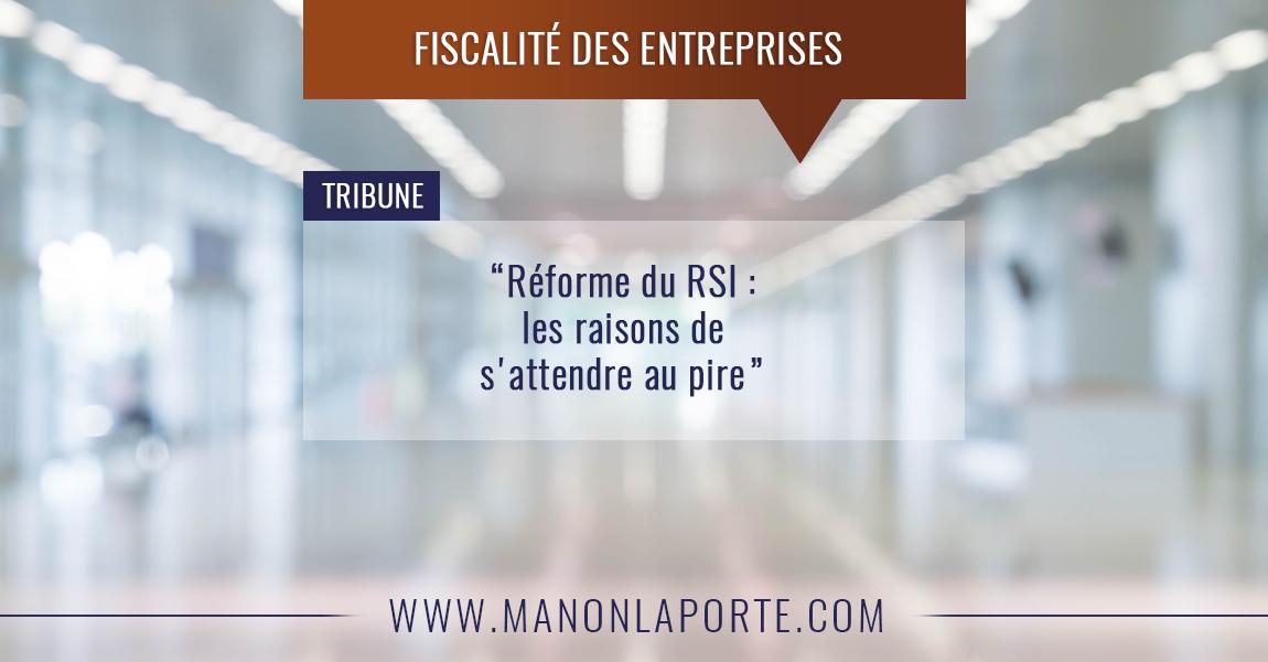 Réforme du RSI