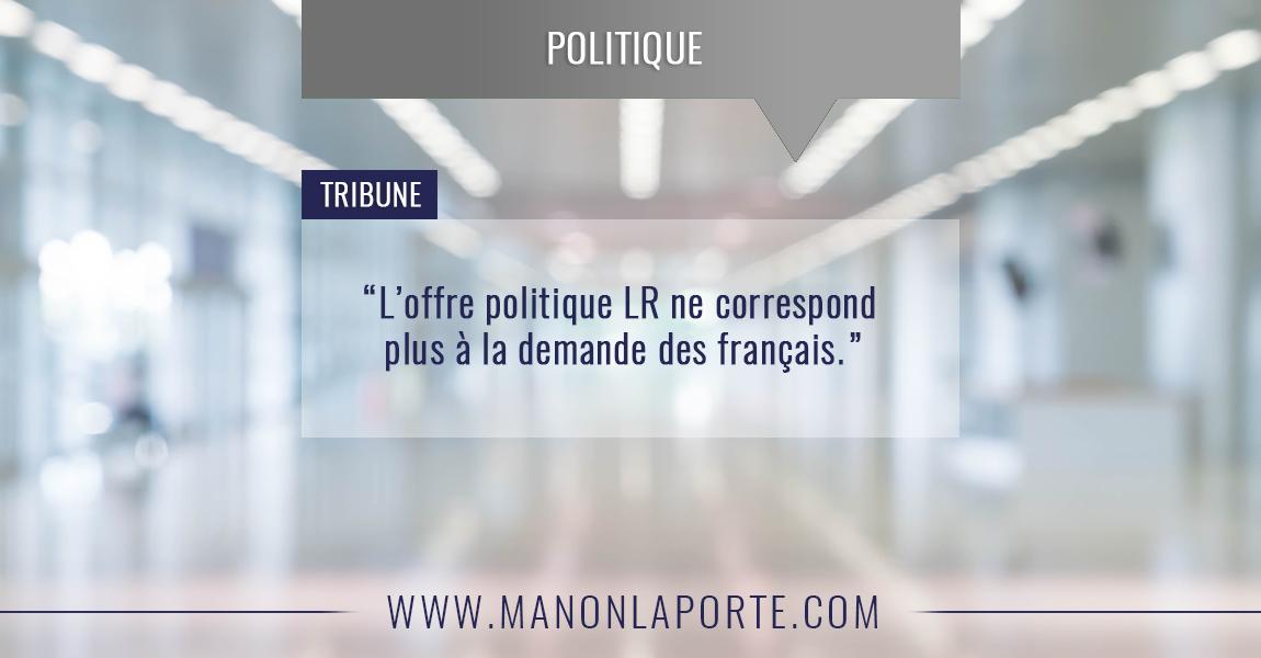 L'offre politique LR
