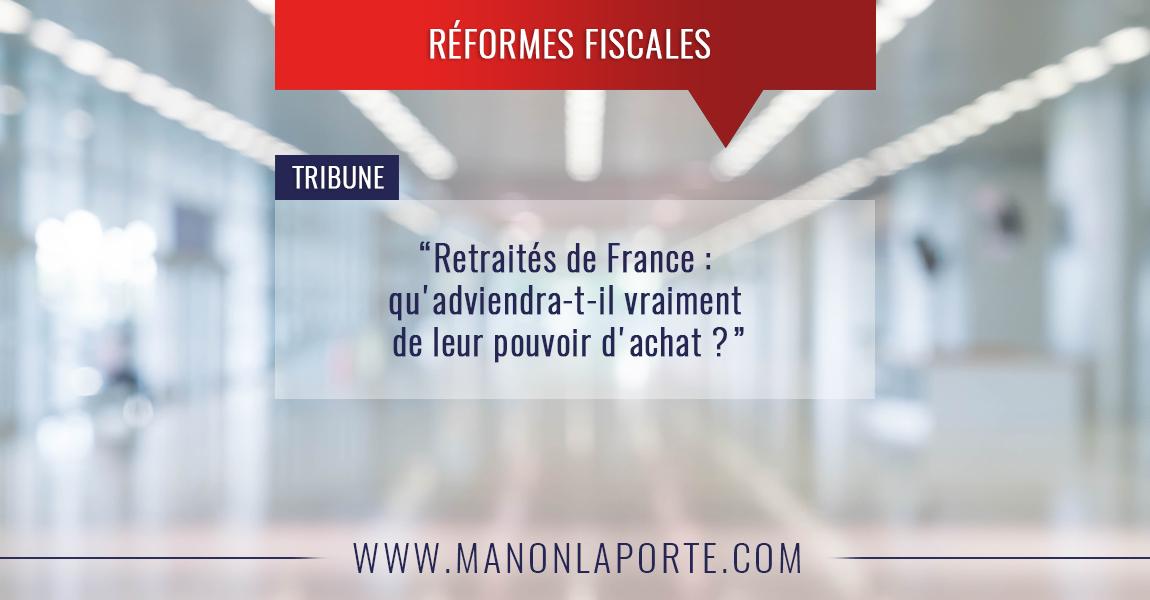 Retraités de France : qu'adviendra-t-il vraiment de leur pouvoir d'achat ?